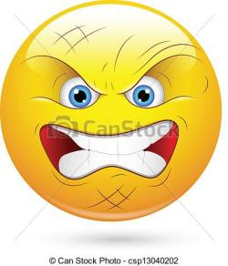 Smileys clipart angry