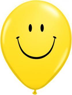 Smiley clipart balloon