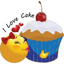 Smileys clipart cake