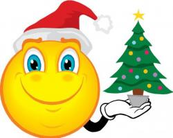 Merry Christmas clipart emoticon