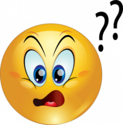 Smileys clipart confused