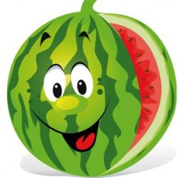Smileys clipart watermelon