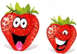 Smileys clipart strawberry