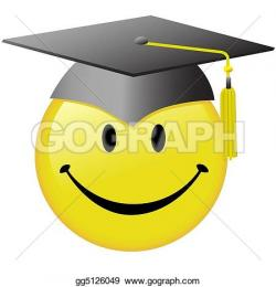 Smiley clipart graduation