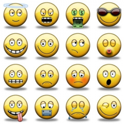 Mood clipart happy face