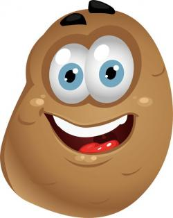 Smiley clipart potato