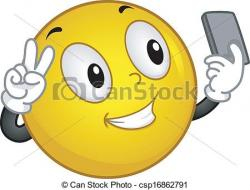 Smileys clipart selfie