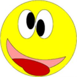 Smiley clipart silly