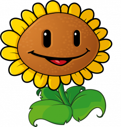 Smileys clipart sunflower