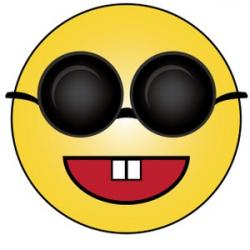 Sunglasses clipart blind