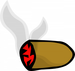 Cigar clipart cartoon