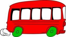 Vehicle clipart bus window
