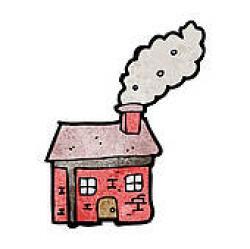 Smoking clipart chimney smoke