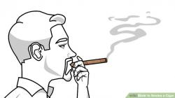 Cigar clipart puff smoke