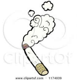 Smoking clipart smoking cigarette