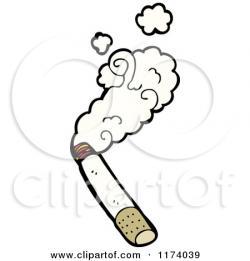 Smoking clipart smoking cigarette