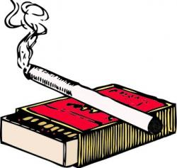 Tobacco clipart cigarette box