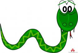 Smooth Green Snake clipart