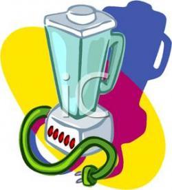 Colorful clipart blender