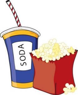 Beverage clipart popcorn