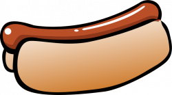 Hot Dog clipart concession