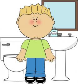 Figurine clipart bathroom