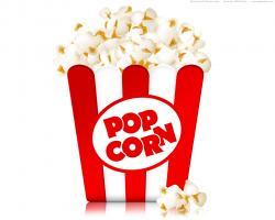 Popcorn clipart gambar
