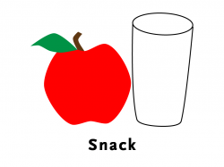 Snack clipart snack helper