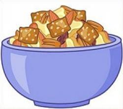 Snack clipart trail mix