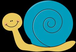 Cute clipart snail