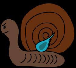 Mollusc clipart slug