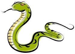 Anaconda clipart green snake