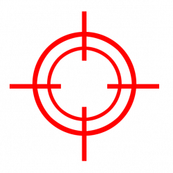 Snipers clipart aim target