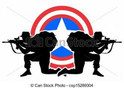Sniper clipart american soldier