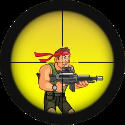 Sniper clipart commando