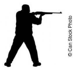Shooter clipart gunman