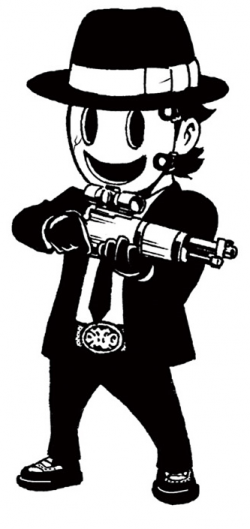 Sniper clipart masked