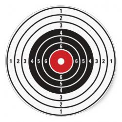 Shooter clipart shooting target