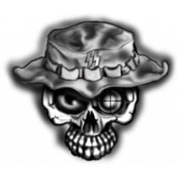 Sniper clipart skull