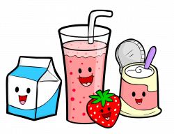 Smoothie clipart animated