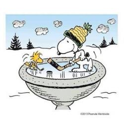 Snoopy clipart january
