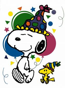 Snoopy clipart party