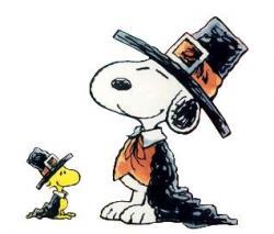 Snoopy clipart pilgrim