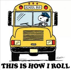 Snoopy clipart school