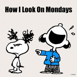 Snoopy clipart silly