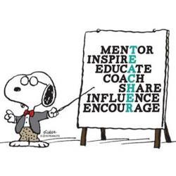 Snoopy clipart teacher