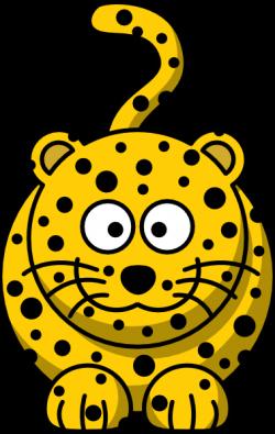 Cheetah clipart cartoon