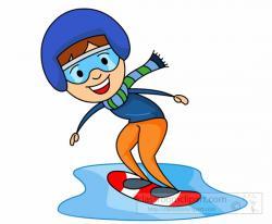K.o.p.e.l. clipart snowboarding