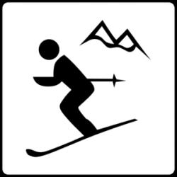 Ski Lodge clipart