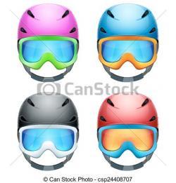 Helmet clipart ski helmet